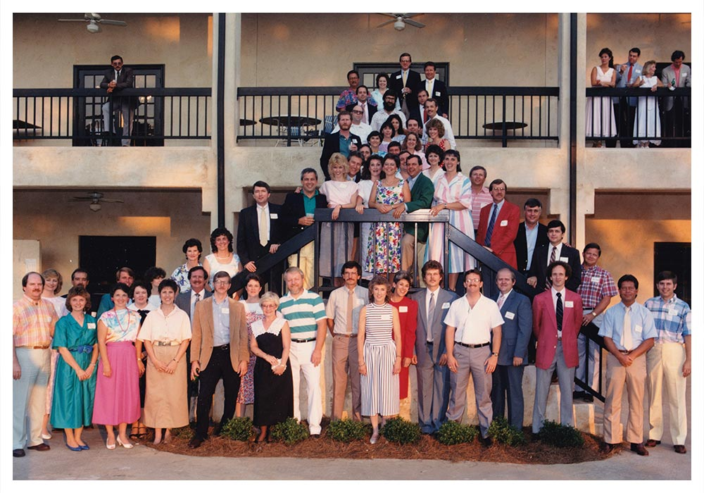 Newnan High School Class of 1967 in 1987