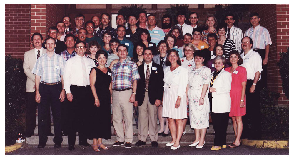 Newnan High School Class of 1967 in 1997