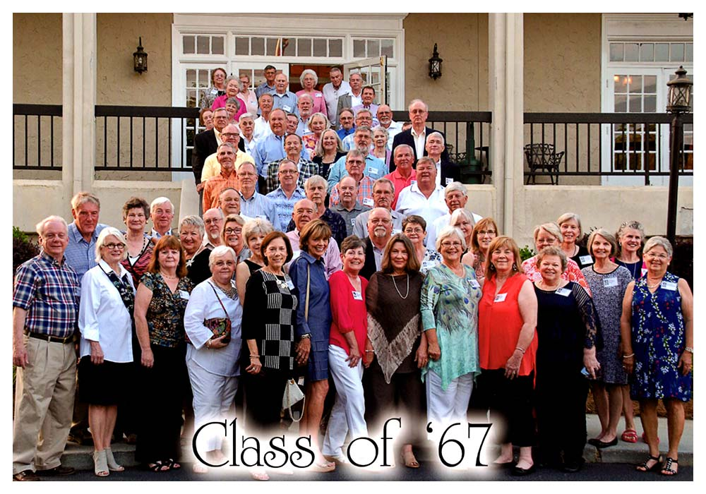 Newnan High School Class of 1967 in 2017